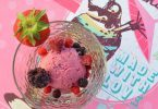 Glace au mascarpone et fruits rouges